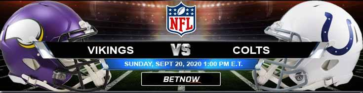 Minnesota Vikings vs Indianapolis Colts 09-20-2020 Game Analysis Tips and Forecast