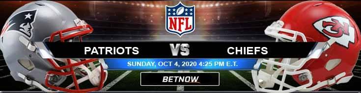 New England Patriots vs Kansas City Chiefs 10-04-2020 Predictions Previews and Spread