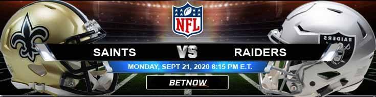 New Orleans Saints vs Las Vegas Raiders 09-21-2020 Spread Game Analysis and Tips