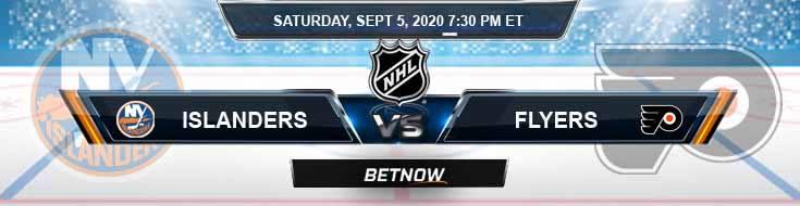 New York Islanders vs Philadelphia Flyers 09-05-2020 NHL Picks Previews & Game Analysis