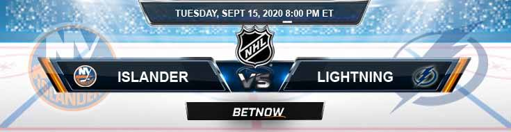 New York Islanders vs Tampa Bay Lightning 09-15-2020 NHL Predictions Previews & Spread