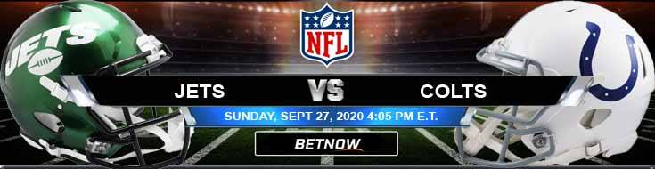 New York Jets vs Indianapolis Colts 09-27-2020 Results Football Betting and Odds