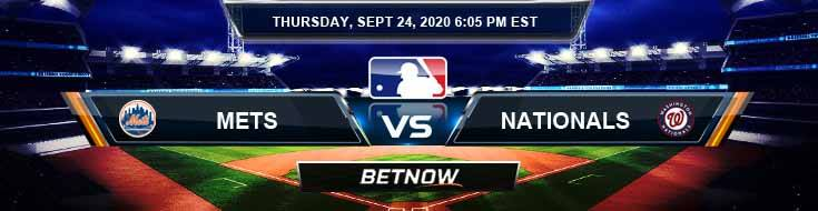 New York Mets vs Washington Nationals 09-24-2020 Tips Baseball Betting and Game Analysis