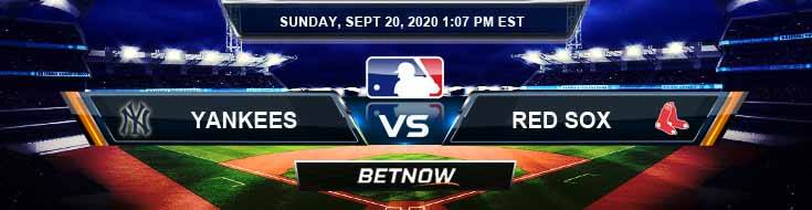 New York Yankees vs Boston Red Sox 09-20-2020 Tips Analysis and Odds
