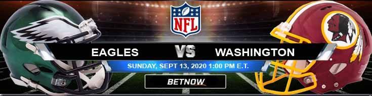 Philadelphia Eagles vs Washington Football Team 09-13-2020 Predictions Previews and Spread