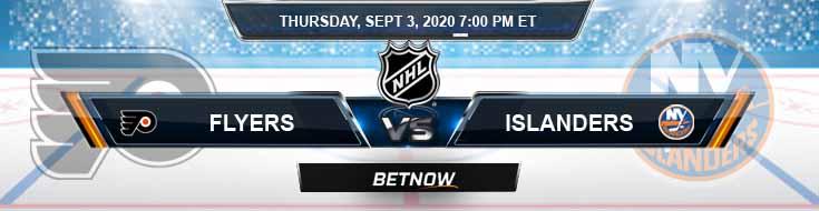 Philadelphia Flyers vs New York Islanders 09-03-2020 NHL Previews Spread and Game Analysis