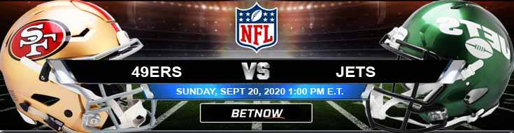 San Francisco 49ers vs New York Jets 09-20-2020 Forecast Analysis and Results