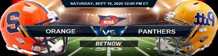 Syracuse Orange vs Pittsburgh Panthers 09-19-2020 NCAAF Game Analysis Tips & Forecast