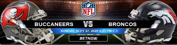 Tampa Bay Buccaneers vs Denver Broncos 09-27-2020 Odds Picks and Predictions