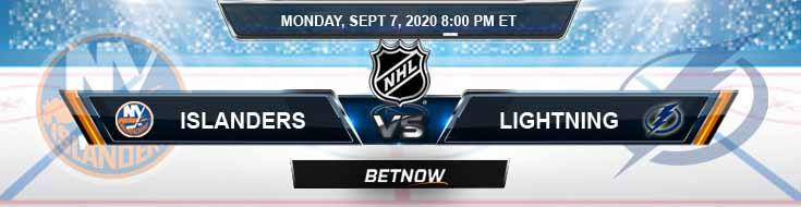 Tampa Bay Lightning vs New York Islanders 09-07-2020 NHL Previews Spread & Odds