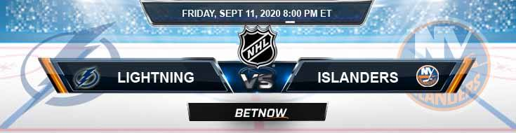 Tampa Bay Lightning vs New York Islanders 09-11-2020 NHL Predictions Odds & Spread