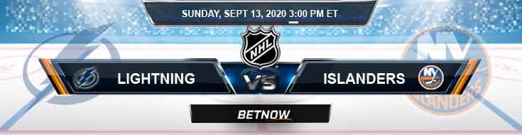 Tampa Bay Lightning vs New York Islanders 09-13-2020 NHL Spread Odds & Picks