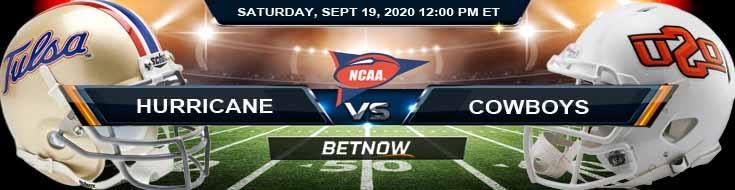 Tulsa Golden Hurricane vs Oklahoma State Cowboys 09-19-2020 NCAAF Previews Spread & Game Analysis
