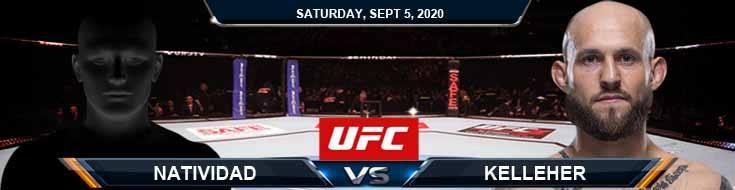 UFC Fight Night 176 Natividad vs Kelleher 09-05-2020 Tips Results and Analysis
