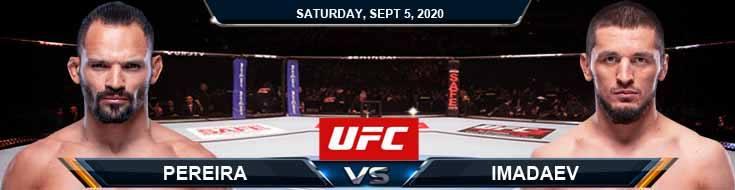 UFC Fight Night 176 Pereira vs Imadaev 09-05-2020 Predictions Previews and Spread