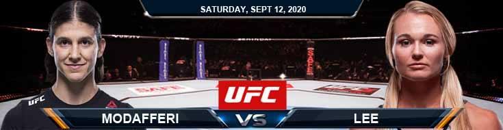 UFC Fight Night 177 Modafferi vs Lee 09-12-2020 Predictions Previews and Spread