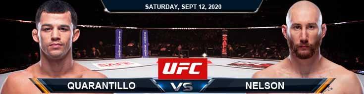 UFC Fight Night 177 Quarantillo vs Nelson 09-12-2020 Spread Fight Analysis and Forecast