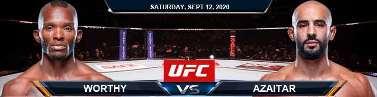 UFC Fight Night 177 Worthy vs Azaitar 09-12-2020 Picks Predictions and Previews