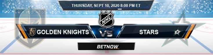 Vegas Golden Knights vs Dallas Stars 09-10-2020 NHL Odds Predictions & Previews