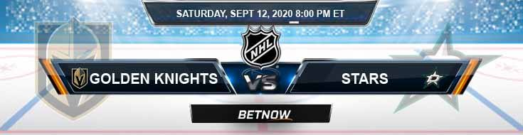 Vegas Golden Knights vs Dallas Stars 09-12-2020 NHL Spread Predictions & Odds