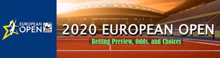 2020 European Open Betting Preview Odds and Choices