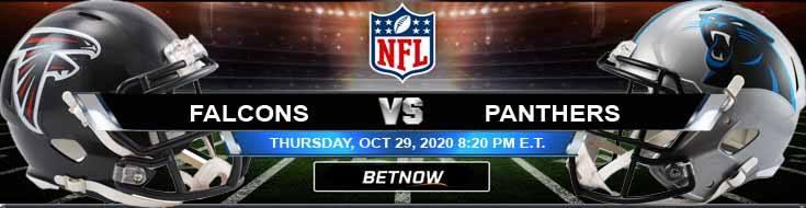 Atlanta Falcons vs Carolina Panthers 10-29-2020 Odds NFL Picks and Predictions