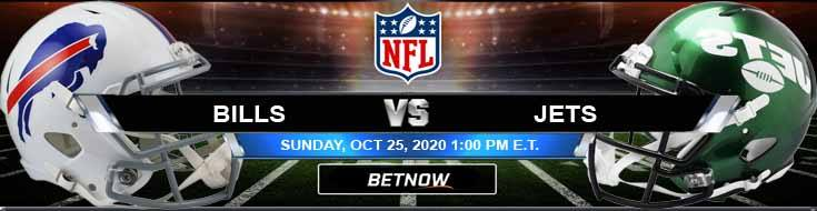Buffalo Bills vs New York Jets 10-25-2020 Picks Predictions and Previews