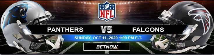 Carolina Panthers vs Atlanta Falcons 10-11-2020 Results Football Betting and Odds