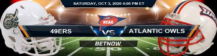 Charlotte 49ers vs Florida Atlantic Owls 10-03-2020 NCAAF Previews Spread & Game Analysis