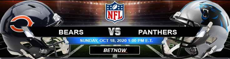 Chicago Bears vs Carolina Panthers 10-18-2020 Previews NFL Spread and Game Analysis