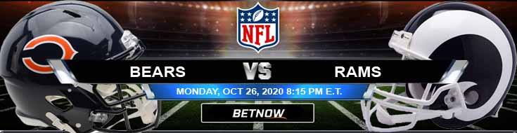 Chicago Bears vs Los Angeles Rams 10-26-2020 Predictions Previews and Spread