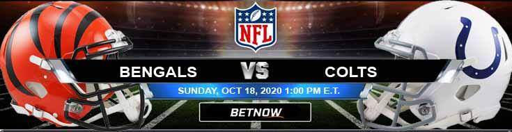 Cincinnati Bengals vs Indianapolis Colts 10-18-2020 Spread Game Analysis and Tips