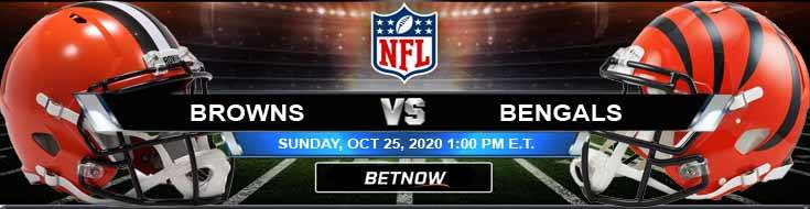 Cleveland Browns vs Cincinnati Bengals 10-25-2020 Previews Spread and Game Analysis