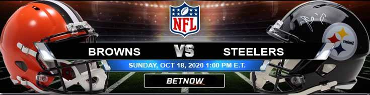 Cleveland Browns vs Pittsburgh Steelers 10-18-2020 Game Analysis Tips and NFL Forecast