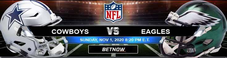 Dallas Cowboys vs Philadelphia Eagles 11-01-2020 Picks NFL Predictions and Previews