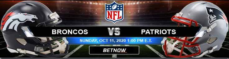 Denver Broncos vs New England Patriots 10-11-2020 Spread Game Analysis and Tips