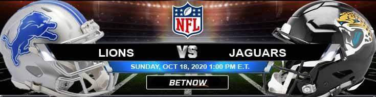 Detroit Lions vs Jacksonville Jaguars 10-18-2020 Tips NFL Forecast and Analysis