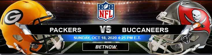 Green Bay Packers vs Tampa Bay Buccaneers 10-18-2020 Odds NFL Picks and Predictions