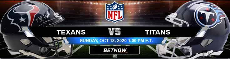 Houston Texans vs Tennessee Titans 10-18-2020 Forecast NFL Analysis and Results