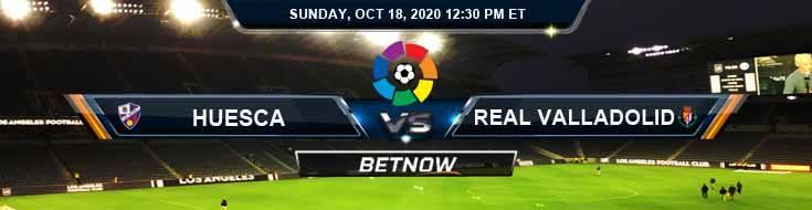 Huesca vs Real Valladolid 10-18-2020 Predictions Previews and Spread