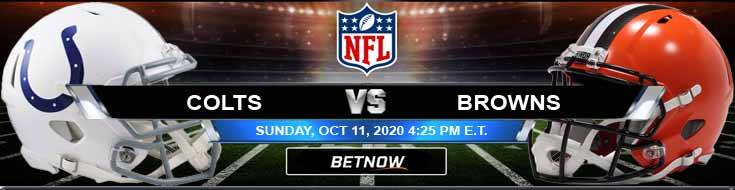Indianapolis Colts vs Cleveland Browns 10-11-2020 Odds Predictions and Spread