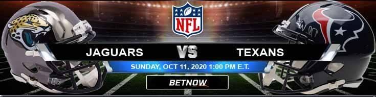 Jacksonville Jaguars vs Houston Texans 10-11-2020 Tips NFL Forecast and Analysis