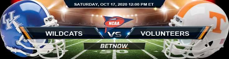 Kentucky Wildcats vs Tennessee Volunteers 10-17-2020 NCAAF Tips Forecast & Analysis