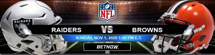 Las Vegas Raiders vs Cleveland Browns 11-01-2020 NFL Previews Spread and Game Analysis