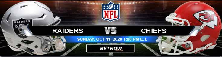 Las Vegas Raiders vs Kansas City Chiefs 10-11-2020 Forecast NFL Analysis and Results