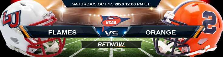 Liberty Flames vs Syracuse Orange 10-17-2020 NCAAF Results Odds & Predictions
