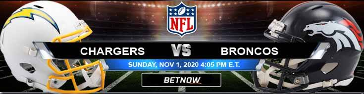 Los Angeles Chargers vs Denver Broncos 11-01-2020 Results Football Betting and Odds