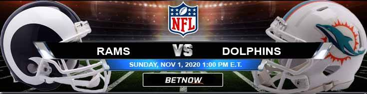 Los Angeles Rams vs Miami Dolphins 11-01-2020 Forecast NFL Analysis and Results