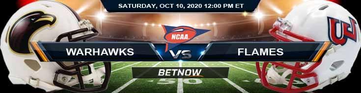 Louisiana-Monroe Warhawks vs Liberty Flames 10-10-2020 NCAAF Tips Forecast & Analysis