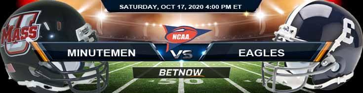 Massachusetts Minutemen vs Georgia Southern Eagles 10-17-2020 NCAAF Game Analysis Forecast & Tips